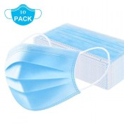 Mask 001 10PCS Disposable Mask 3-Ply Protective  Mouth Mask