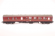Hornby R1128 Harry Potter Corridor Brake Coach Side View