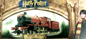 Hornby R2301 OO Hogwarts Express Gold Plated.Edition Outer Box View