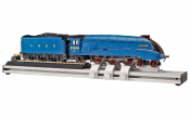 Hornby R8211 Rolling Road loco Unit Side View with Mallard for Show Purposes