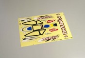 Kyosho LAD102 Decals (LAZER ZX-5RS/Type-2/Yellow)