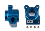 Team Associated AS91877 RC10B6.2 FT Rear Hubs blue aluminum