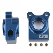 Team Associated AS92270 RC10B74.1 FT Rear Hubs blue aluminum