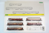 TRIX 21215 HO International Luxury Train Coach Pack as of around 1912 Main Boxed View