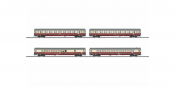 Trix 23485 HO - Offshoot Train Car Set Stacked Side View