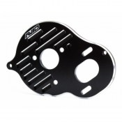 AVID AV1050 Black alloy lightweight vented motor plate (Associated B5 B5M or T5M)