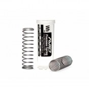 AVID AV1200-WHT 12mm Buggy/Truck rear springs - white - 1.94lb (1 pr)