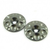 SWORKz  SW-330424G S350 Series Wing Washers - Aluminium Gun Metal -2pcs